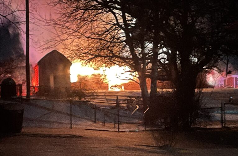 UPDATE: HFD Fights Blazing House Fire and Frigid Temperatures