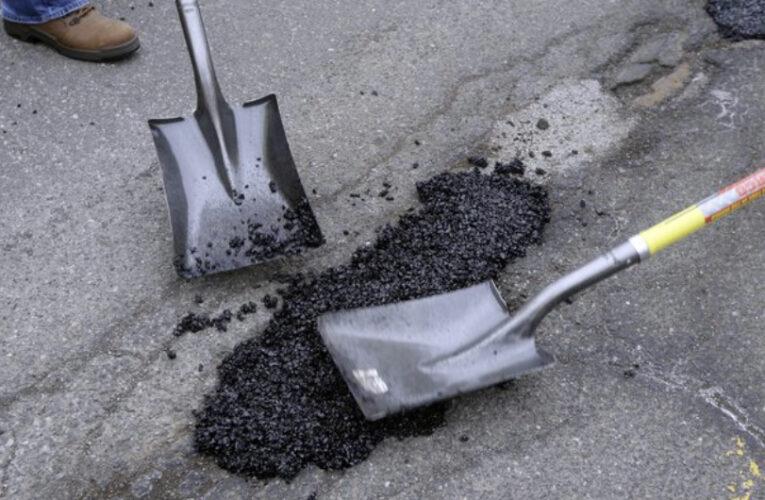 Winter Weather Potholes