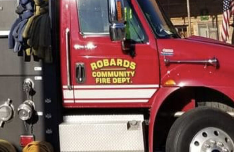 Robards FD Quickly Extinguishes Fire at Tyson