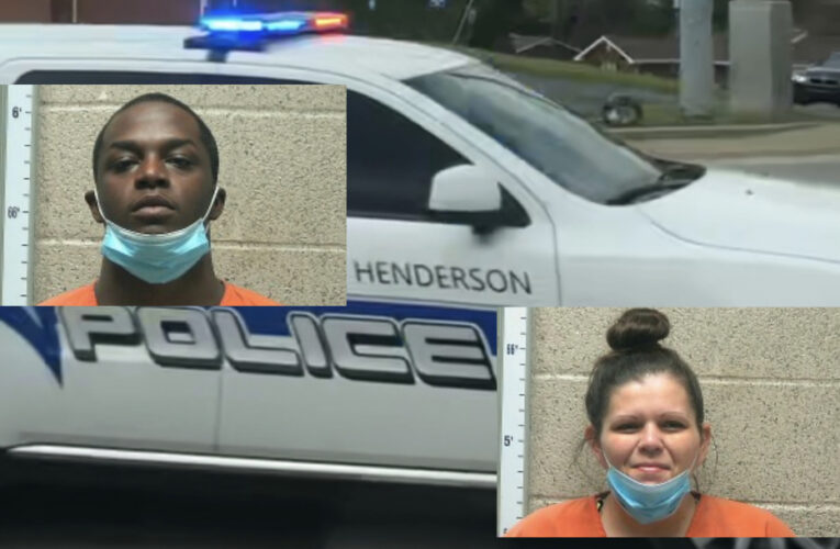 Two Arrested on Several Warrants at Henderson Hotel