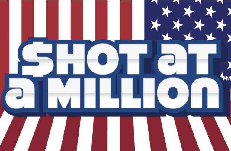 """""""Shot At A Million"""" Vaccination Drawing"""