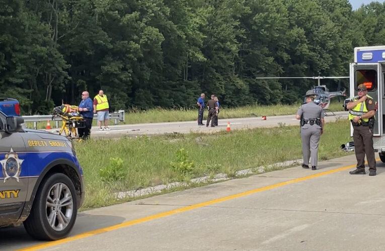 Fatal Collision Shuts Down Audubon Parkway