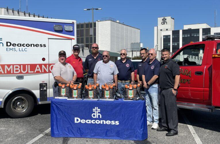 Henderson Volunteer Fire Departments Receive Life-Saving Donations
