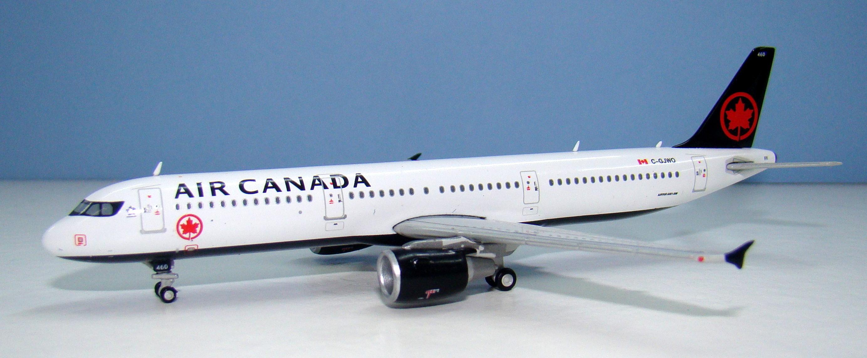 Air Canada Airbus A321 C-GJWO