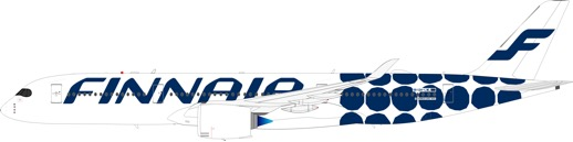 """IF350AY001 Finnair Airbus A350-900 """"Marimekko Kivi"""" OH-LWL"""