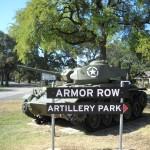 Armor Row, Artillery Park and Parade Ground