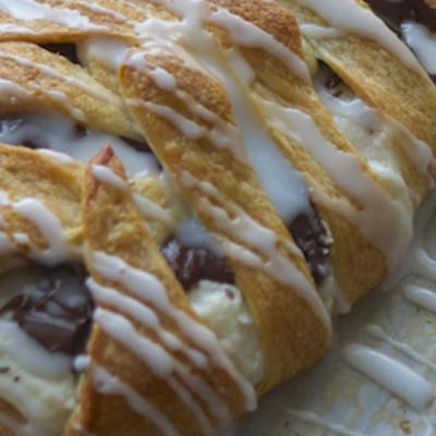 Chocolate Cream Cheese Danish Recipe