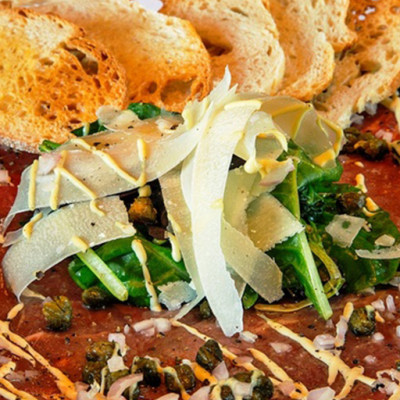 Southwestern Beef Carpaccio Recipe