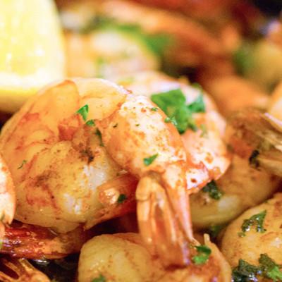 Cajun Spicy Garlic Shrimp