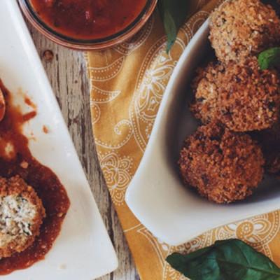 Cauliflower Rice Arancini