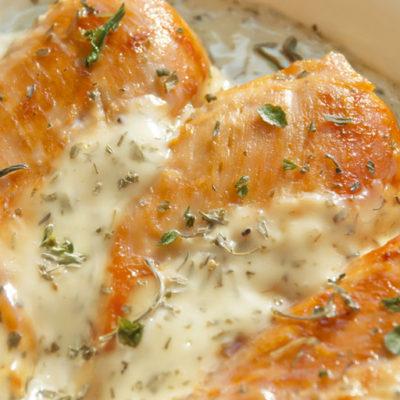Creamy Herbed Chicken Breasts