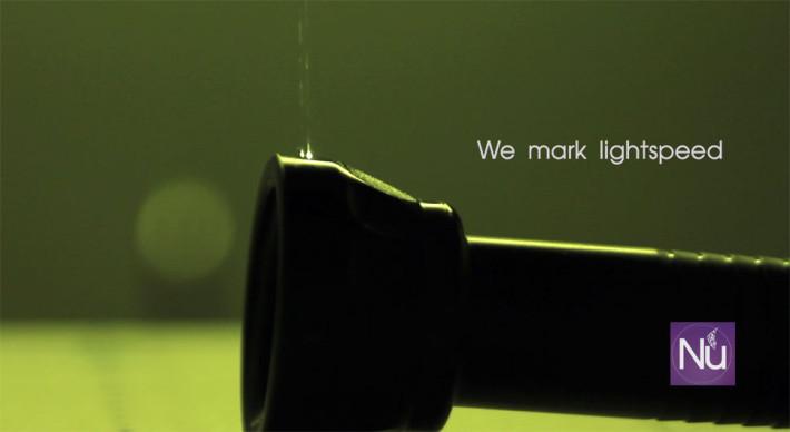Surgical instrument laser mark