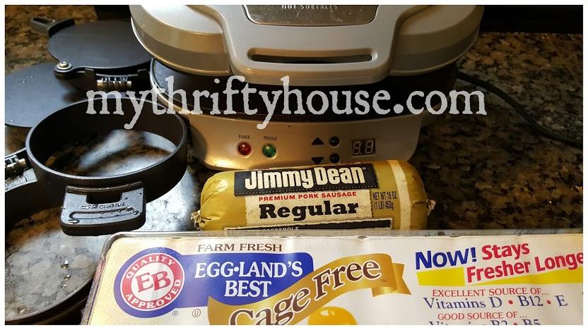 breakfast sandwich maker ingredients