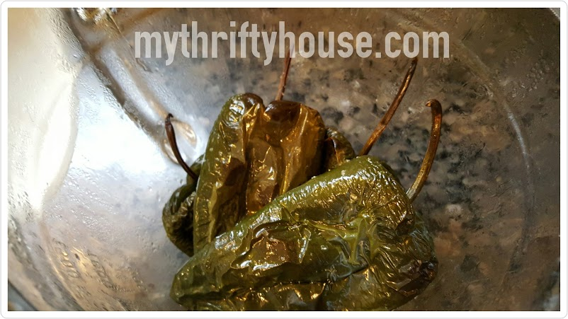 roasted tomatillo salsa verde charred peppers