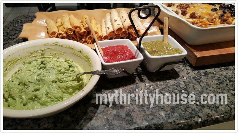 tomatillo salsa verde mexican dinner