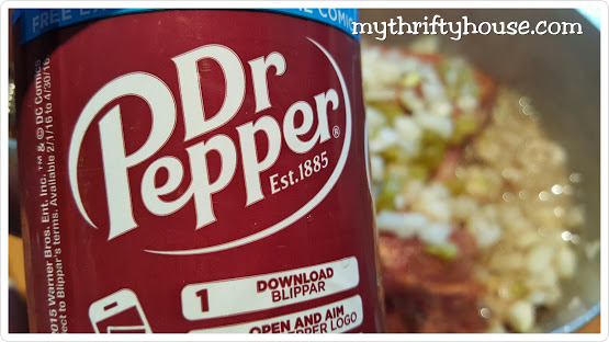 The main ingredient for amazing Dr. Pepper Pulled Pork