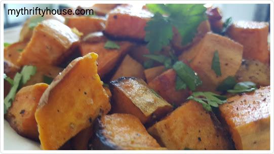 whole30 day 30 sweet potatoes