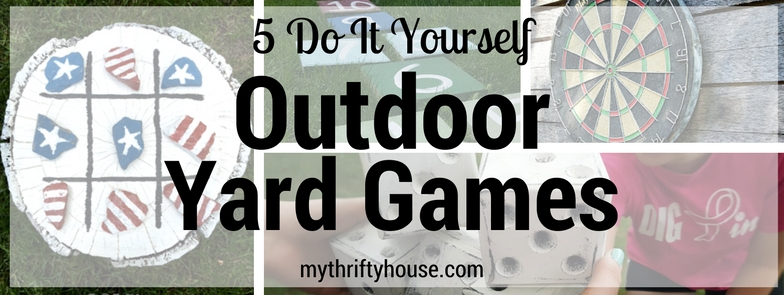 Do It Yourself Outdoor Yard Games Round Up
