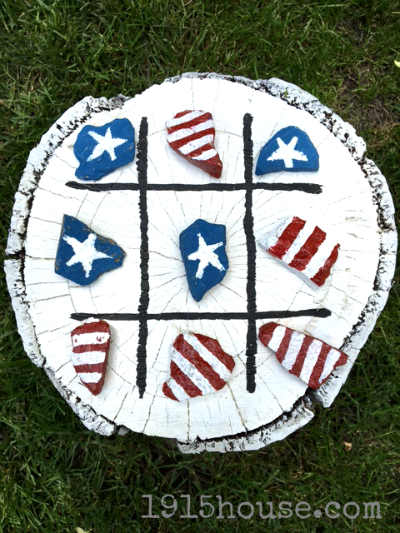Outdoor Yard Games Tic Tac Toe made by 1915 House