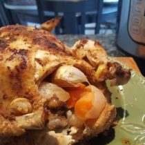 Whole30 Roasted Chicken and Broth