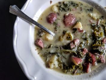 Whole30 potato soup