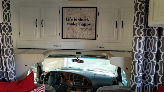 glamper living room makeover and spare bedroom