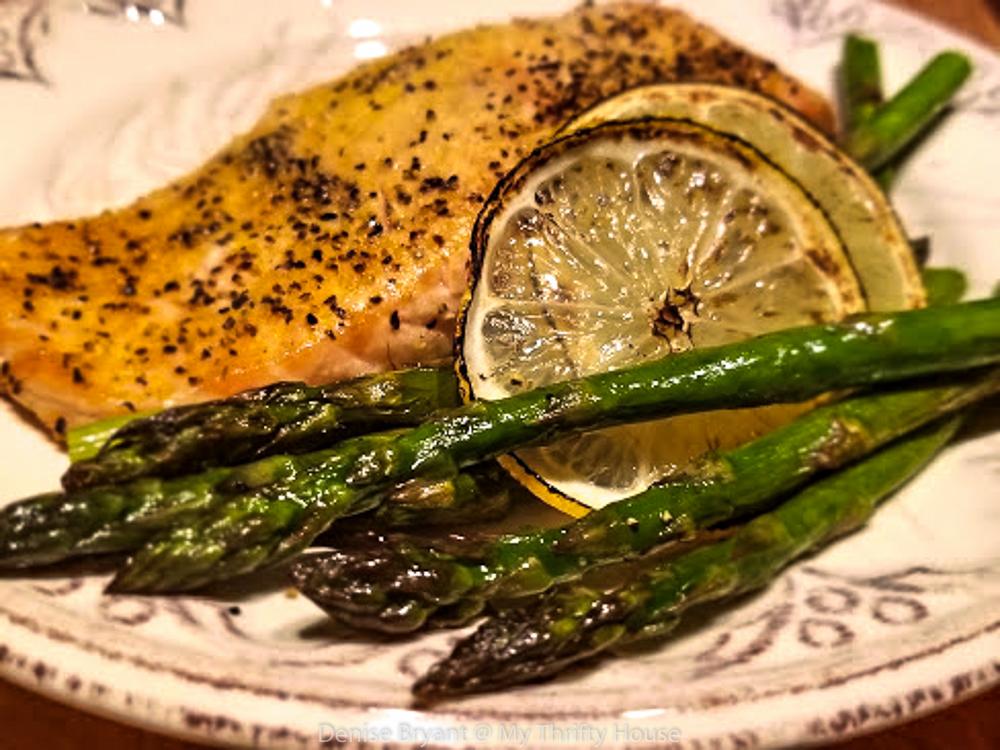 Whole30 Lemon Pepper Salmon