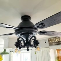 How to update an ugly ceiling fan