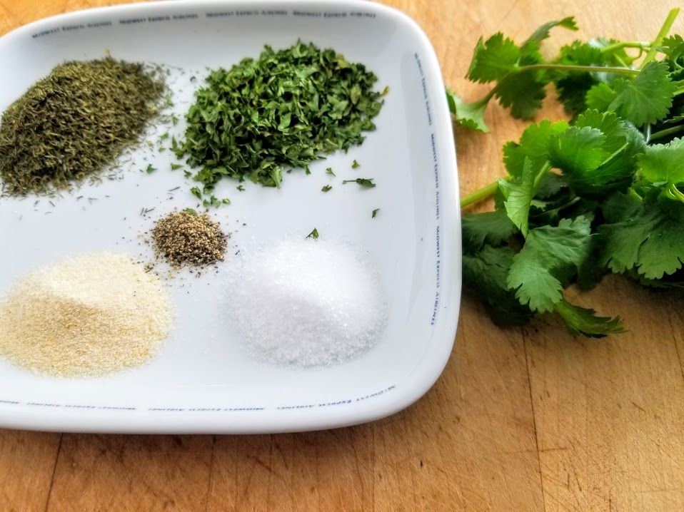 Whole30 creamy cilantro salad dressing ingredients