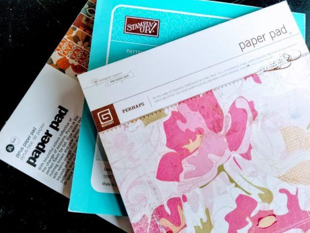 Last 90 days craft junk giveaway paper
