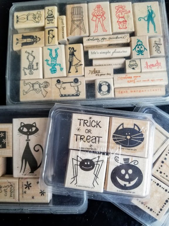 Lasty 90 days craft junk giveaway stamps
