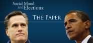 """[Press] Will Obama Win in November? New Study Says, """"Ask the Stock Market"""""""