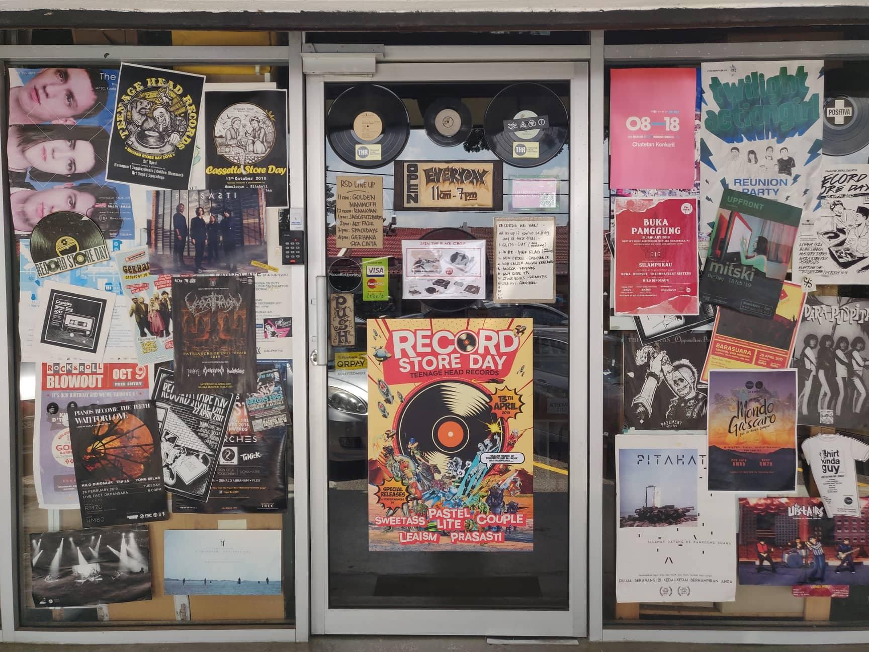 5 Record Store 'Keras' Sekitar Lembah Klang