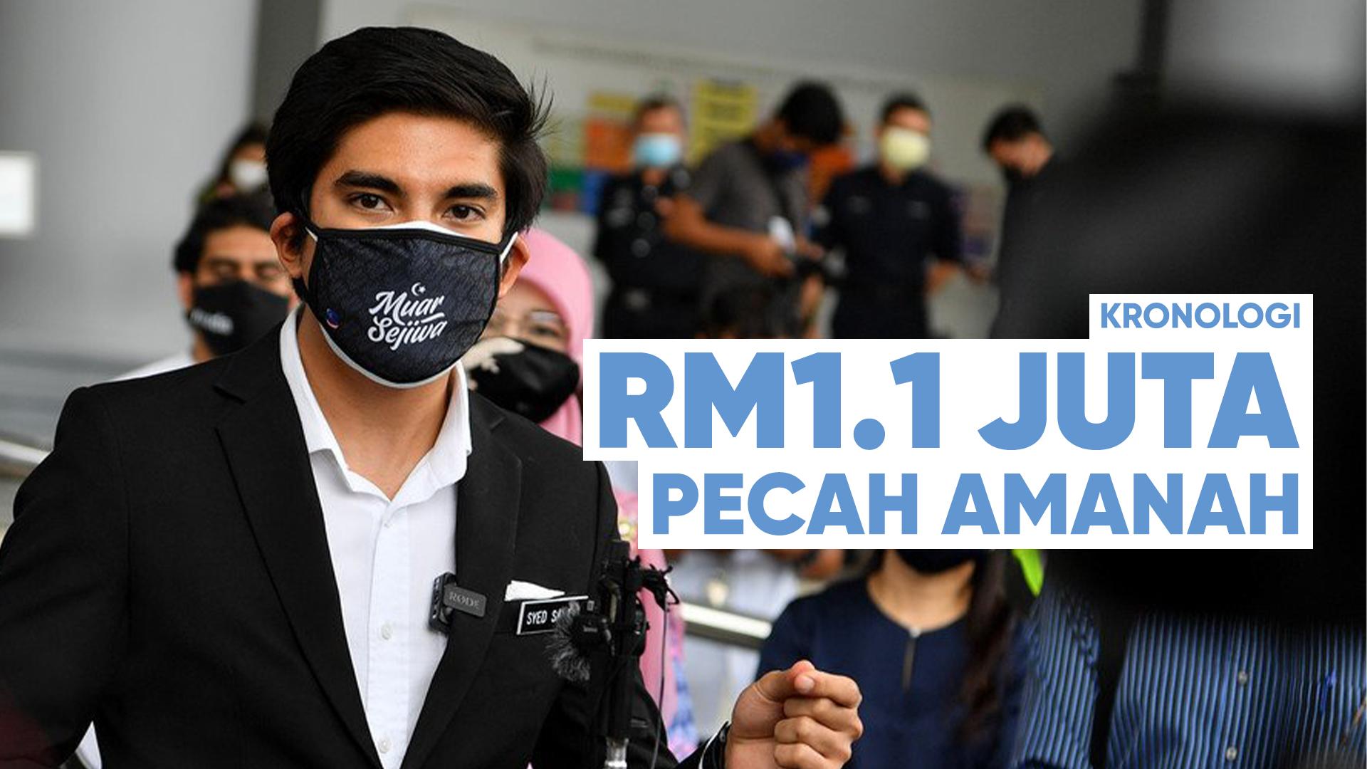 Ringkasan Kes RM1.1 Juta Syed Saddiq Pecah Amanah