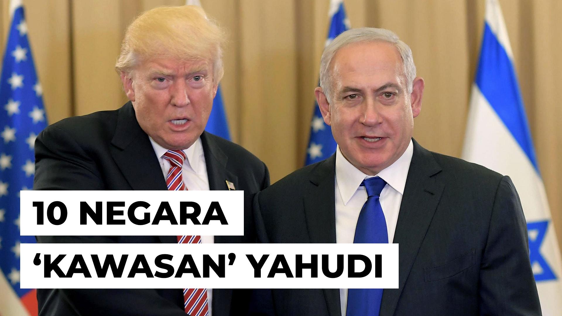 Yahudi di Pelusuk Dunia – 10 Negara 'Kawasan' Yahudi
