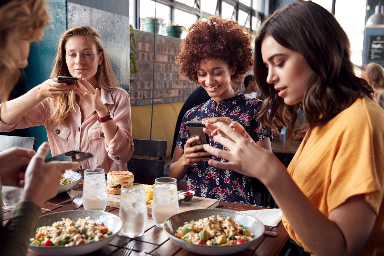 Restaurant guests share photos on social media