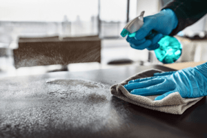 Mitigating COVID Disinfecting Downtime