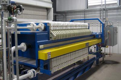 1000 mm Waste Water Filter Press