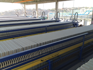 1500 mm Filter Press Installation