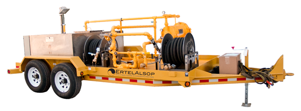 Utility trailer Used for Electrical Utility Oil Filtration