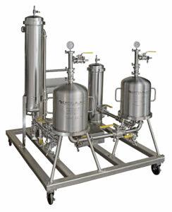 CannaSkid 4 Stage Lenticular Filtration System