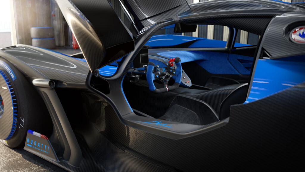 The Bugatti Bolide via Carsfera.com