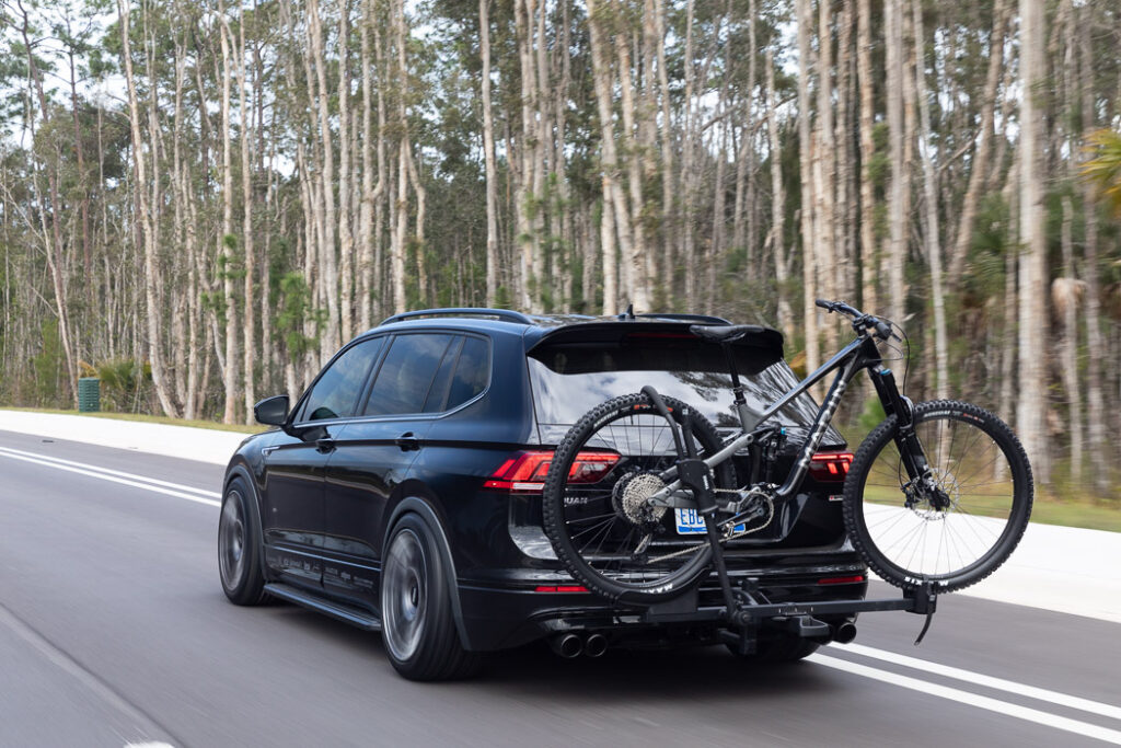 The latest Volkswagen 2021 Enthusiast Fleet showstopper: The Tiguan SE R-Line Black RiNo Concept via Carsfera.com