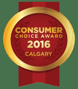 Calgary Consumer Choice Award
