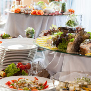 How I Catered My Own Wedding