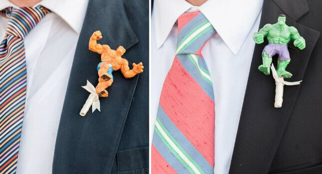 10 Boutonniere Ideas to Break the Mold