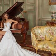 Couture Collection Fancy White Featuring Transgender Model Valentina Sampaio