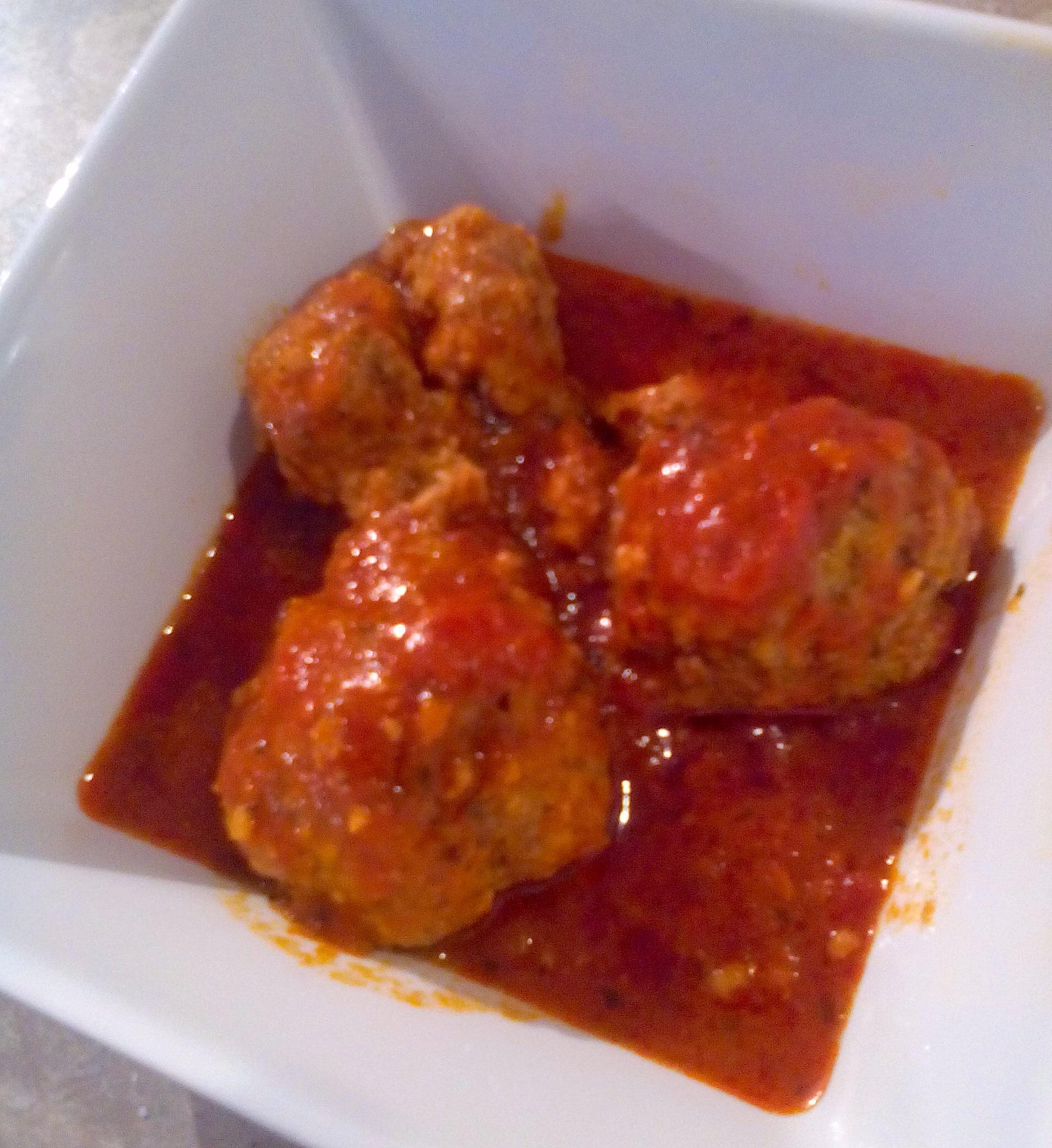 Meatball marinara sauce