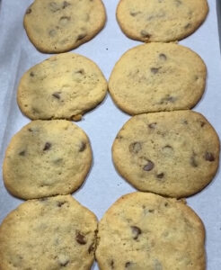 Leve room for cookies to expand