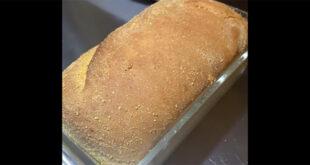 Elizabeth Bakes No Knead English Muffin Loaf